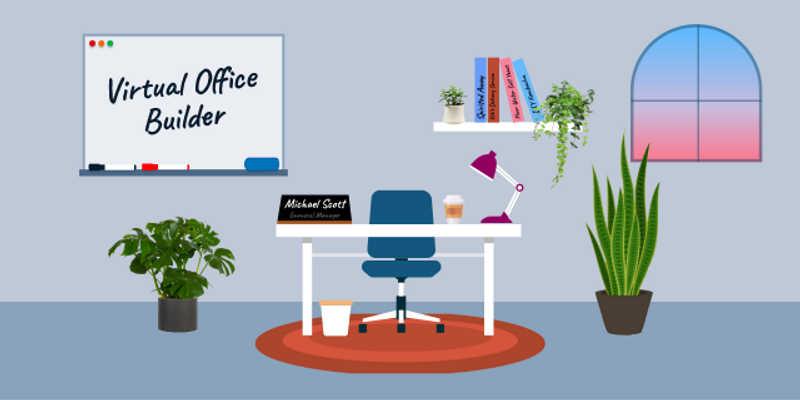 Virtual Office Builder figma free