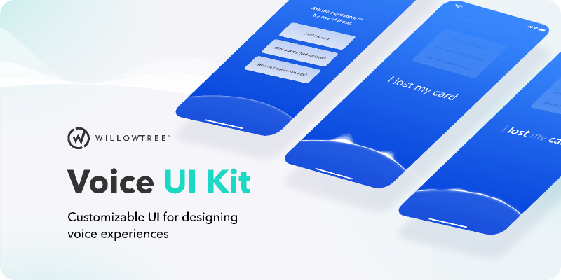 Voice Design UI Kit figma
