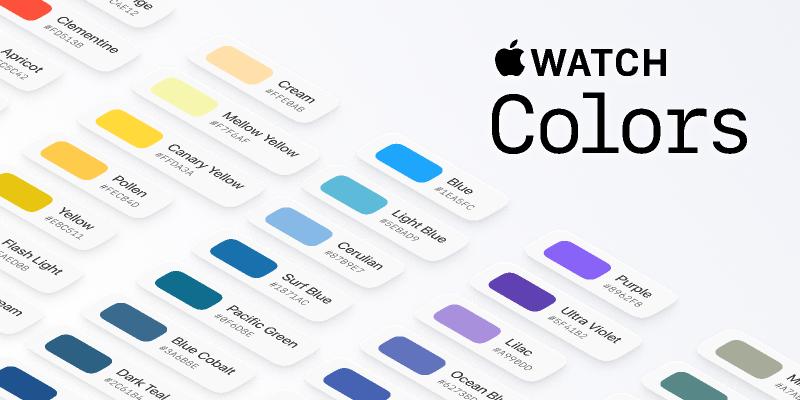 watchOS Colors Pattern