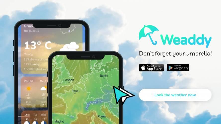 Weaddy: Weahter App figma