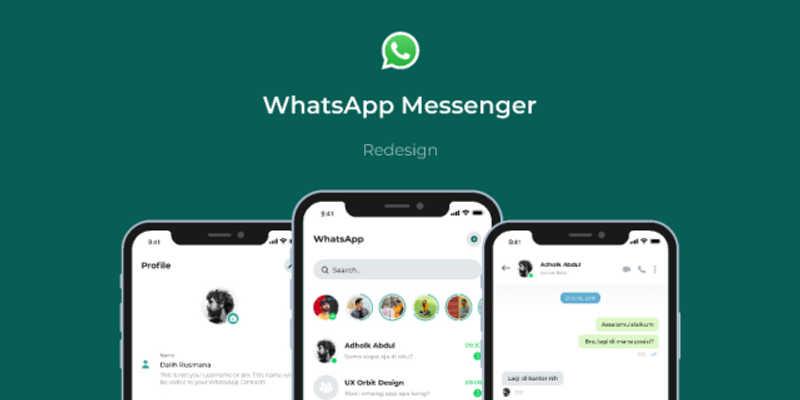 WhatsApp Redesign Present Figma