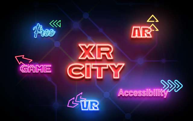 XR City Subway Map figma neon
