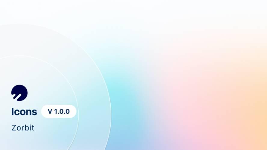 Zorbit - Icons Figma Template Free